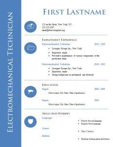 Resume format for jobs doc